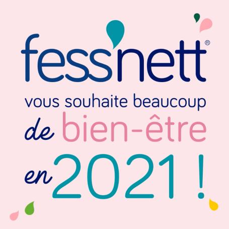 Fess'Nett vous souhaite une bonne année 2021 !